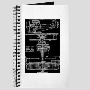 Bi-Plane Blueprint Journal