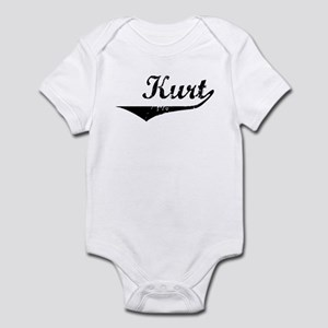 Kurt Vintage (Black) Infant Bodysuit