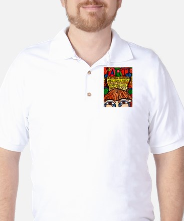 Art Brain Golf Shirt