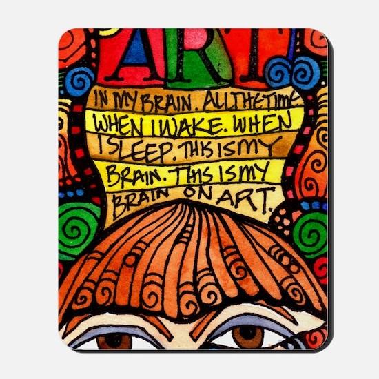 Art Brain Mousepad