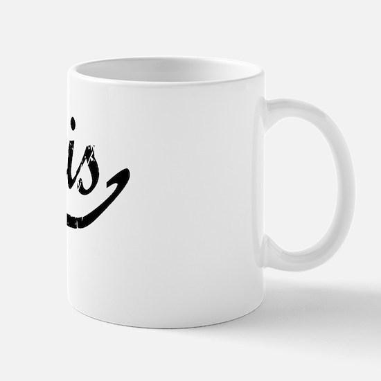 Kurtis Vintage (Black) Mug