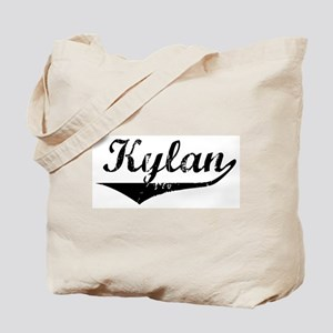 Kylan Vintage (Black) Tote Bag