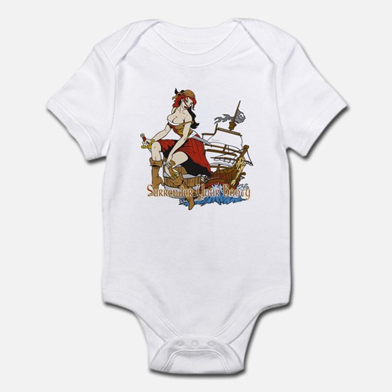 Surrender Your Booty  Infant Bodysuit