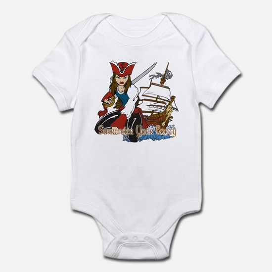 Surrender Your Booty 2 Infant Bodysuit