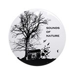 Sounds of Nature Ornament (Round)