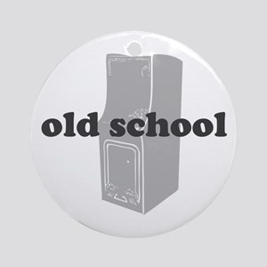 Old School Arcade Ornament (Round)