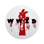 What Would Zombie Do (WWZD) Ornament