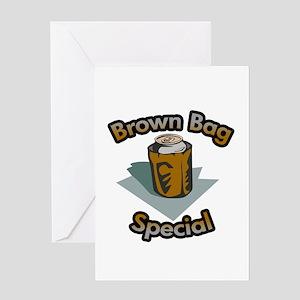 Brown bag special Greeting Card