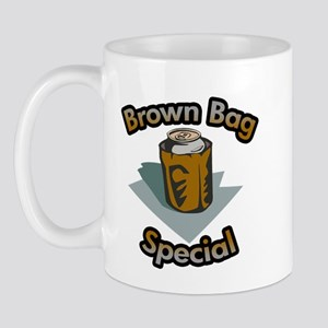 Brown bag special Mug