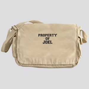 Property of JOEL Messenger Bag