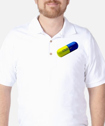 Chill Pill Golf Shirt