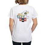 Frolic Pad Women's V-Neck T-Shirt