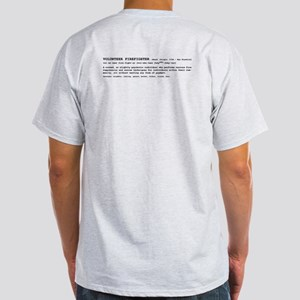 Volunteer Firefighter Definition Light T-Shirt