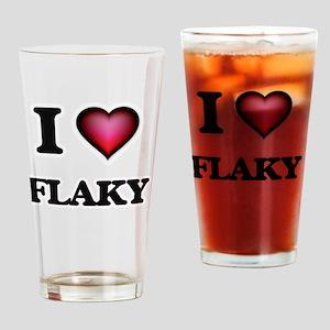 I love Flaky Drinking Glass