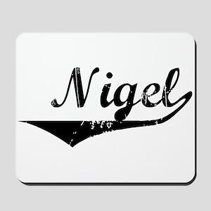 Nigel Vintage (Black) Mousepad