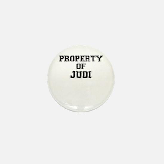 Property of JUDI Mini Button