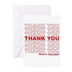 Shopping Bag Greeting Cards (Pk of 10)