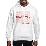 Shopping Bag Hooded Sweatshirt