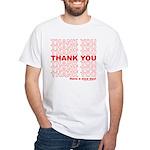 Shopping Bag White T-Shirt