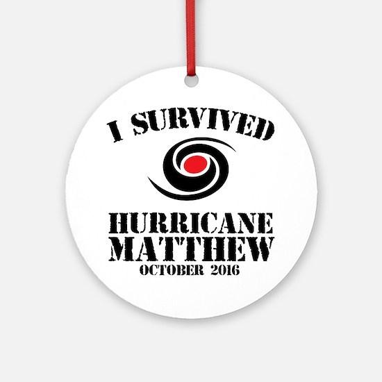 Cute Matthew Round Ornament
