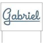 Gabriel Yard Sign