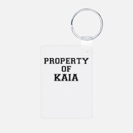 Property of KAIA Keychains