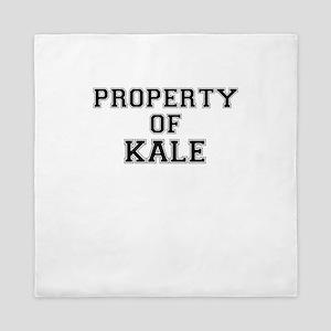 Property of KALE Queen Duvet