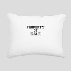 Property of KALE Rectangular Canvas Pillow