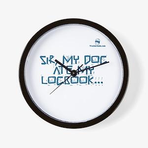 Sir, my dog ate my logbook... Wall Clock