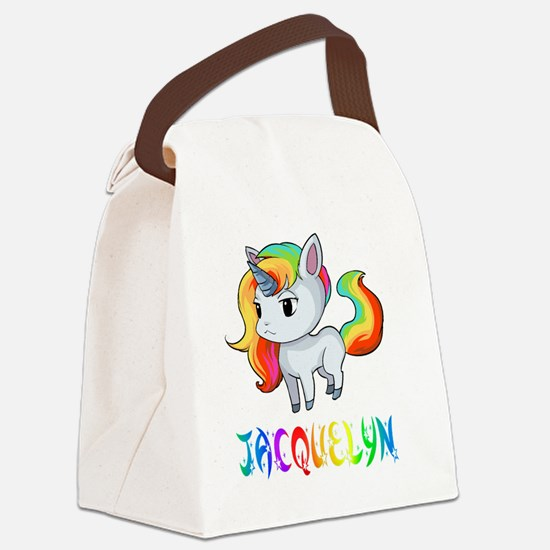 Jacquelyn Canvas Lunch Bag