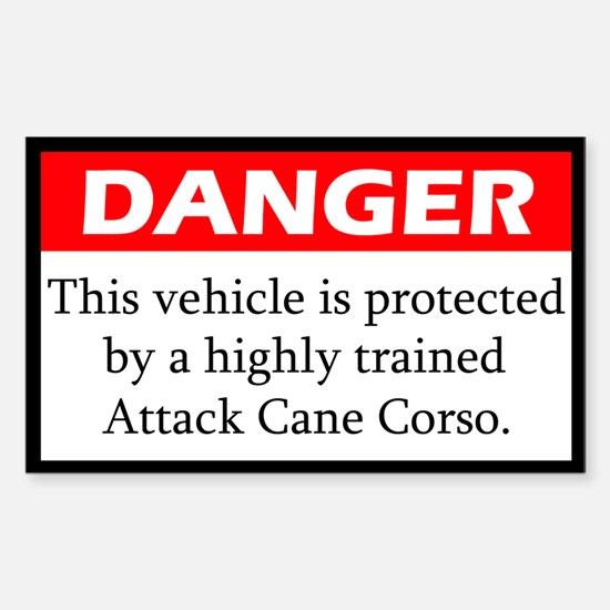 Attack Cane Corso Decal