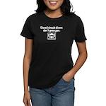 CC Divers Don't Pass Gas Women's Dark T-Shirt