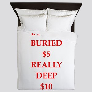 offbeat Queen Duvet
