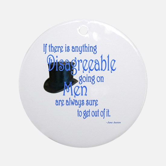 Disagreeable Ornament (Round)
