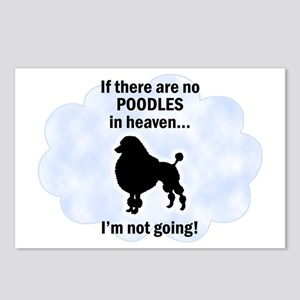Toy Poodles In Heaven Postcards (Package of 8)