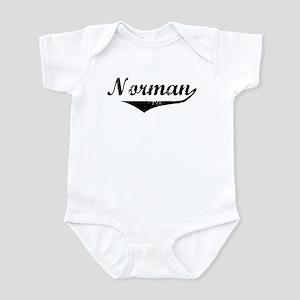 Norman Vintage (Black) Infant Bodysuit