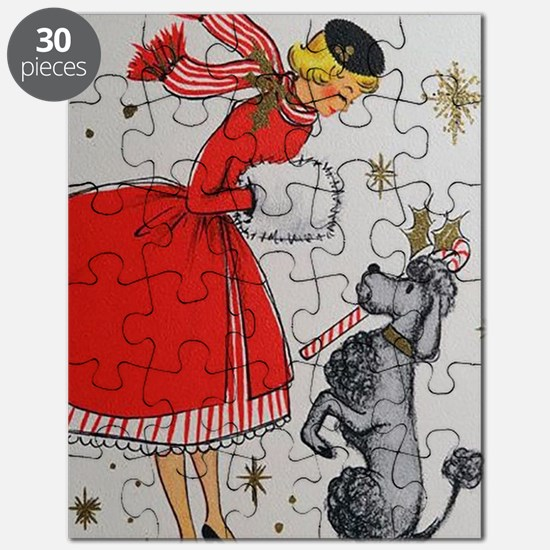 Funny Vintage dog Puzzle