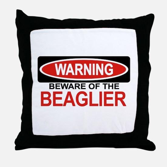 BEAGLIER Throw Pillow