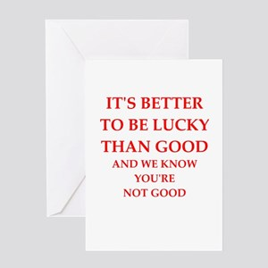lucky Greeting Cards