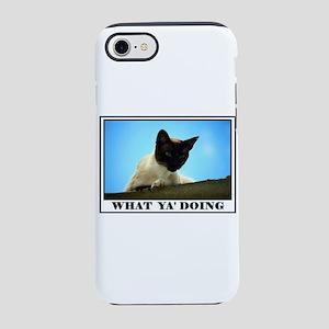 WHAT YA DOING iPhone 8/7 Tough Case