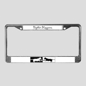 BigAir Happens Liscence Plate Frame