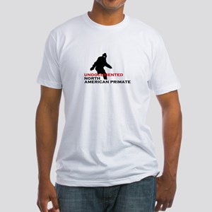 UNDOCUMENTED NORTH AMERICAN PRIMATE Fitted T-Shirt
