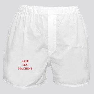 safe sex Boxer Shorts