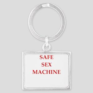 safe sex Keychains