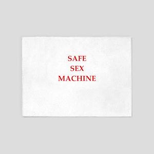 safe sex 5'x7'Area Rug