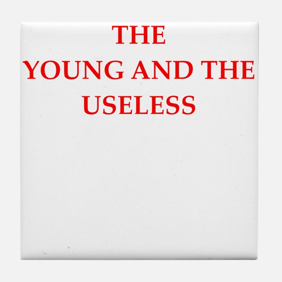 young Tile Coaster