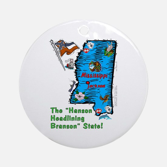 MS-Branson! Ornament (Round)