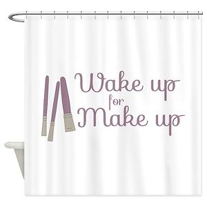 Makeup Shower Curtains