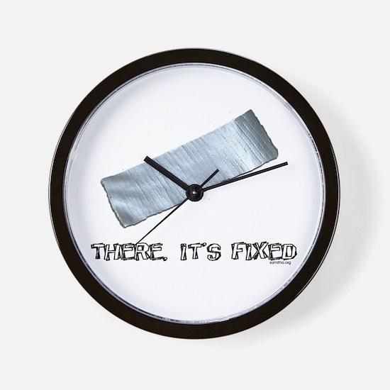 Duck Tape Wall Clock