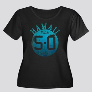 Vintage Style Hawaii 5-O Plus Size T-Shirt